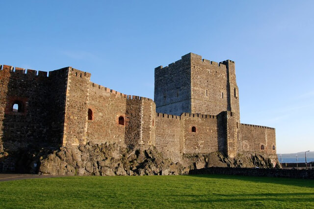 castle in carrickfergus northern ireland
